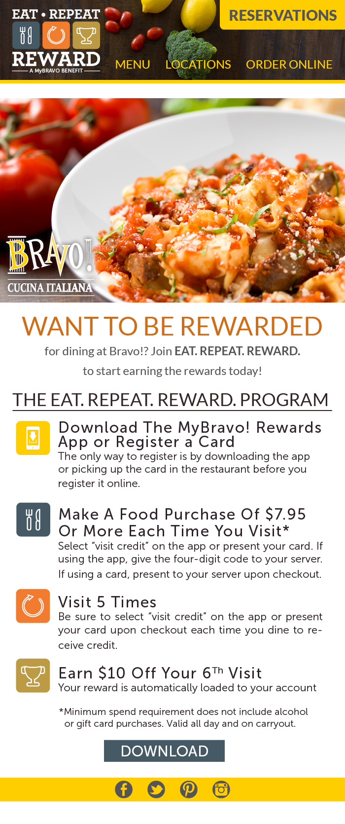 2015 Bravo Loyalty E Club Guest Transfer to ERR Email
